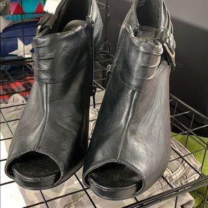 Dollhouse open toe heels 9